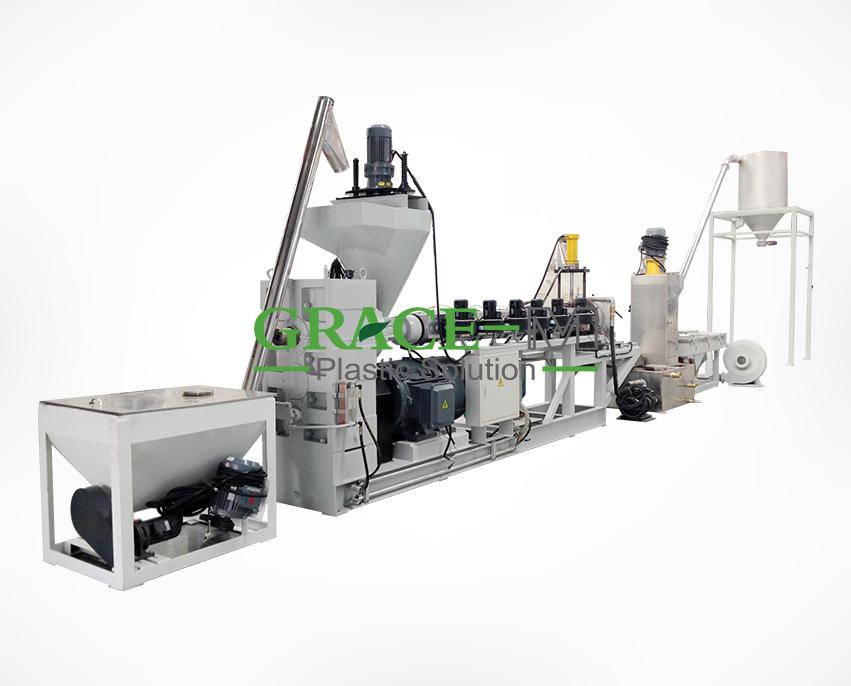 PE/PP Flakes Granulation Line_2