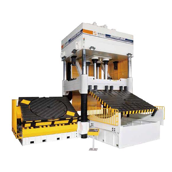 High-Precision Presses For 3-Color Mould_2