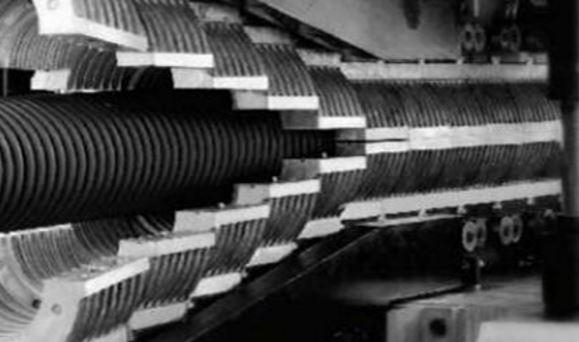 HDPE/PVC DOUBLE WALL CORRUGATED PIPE EXTRUSION LINE_2