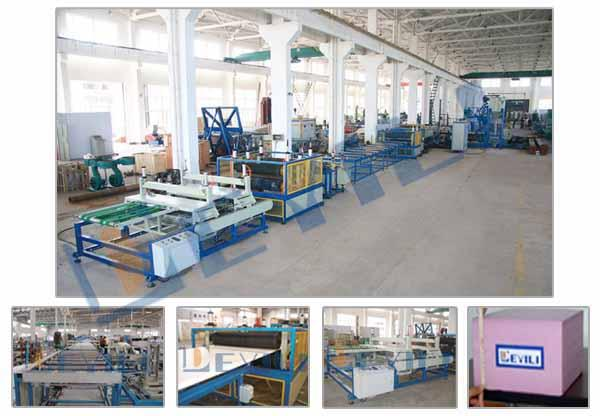XPS extruded plate production line_2