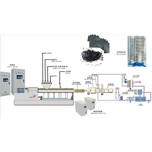 Graphite EPS extrusion production equipment_2