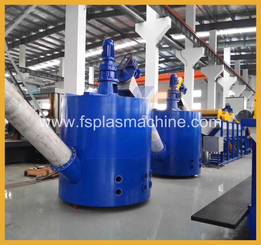Waste Plastic PET Bottle Washing Recycling Production Line_2
