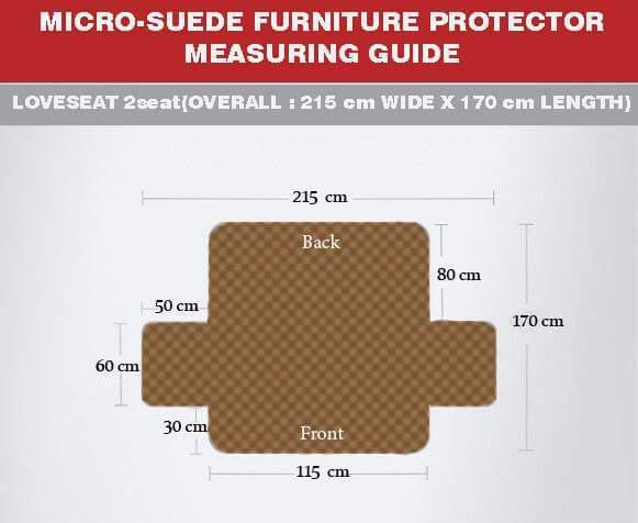 2 Seats Luxury Sofa Cover_7