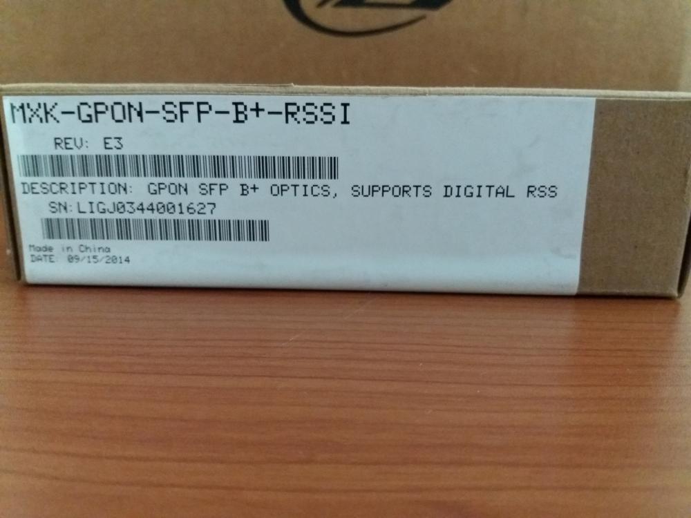 GPON SFP B+ OPTICS MXK-GPON-SFP-B+-RSSI Zhone Technologies_5