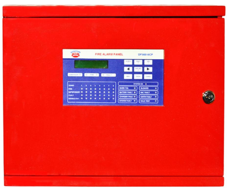 UL Listed Conventional  Control Panel 4 Zone_2