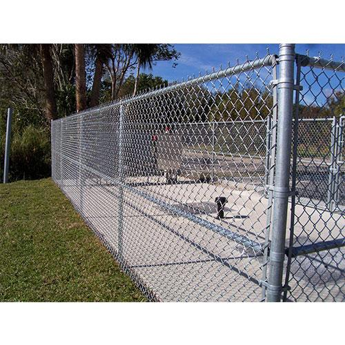 Galvanized Chain Link Fence_2