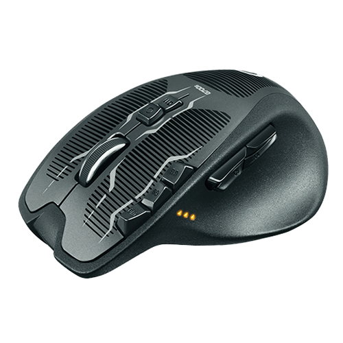 Logitech G700S Wireless Gaming Mouse  Wireless freedom, wired performance  Part No: 910-003423_2