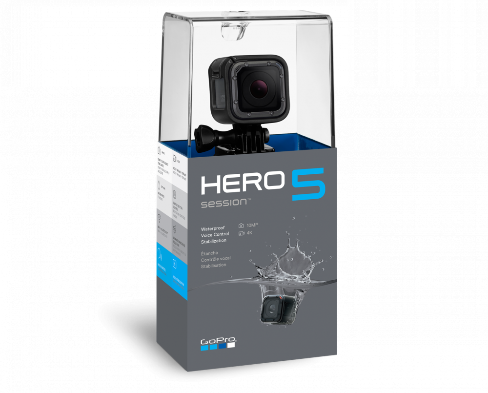 Go Pro Session 5 Waterproof Action Camera- Black_2