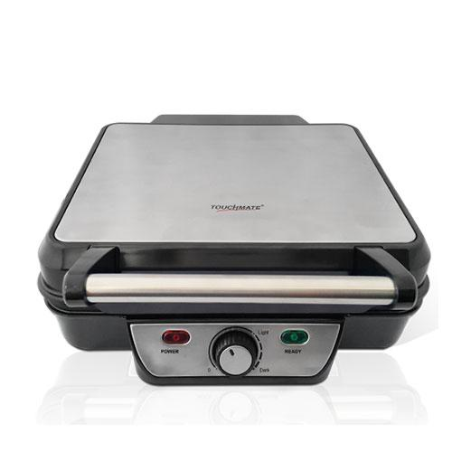 TOUCHMATE Contact Grill - 1800W, 6-in-1 Griller, 50% Energy Efficient, Black (TM-CG101S)_3