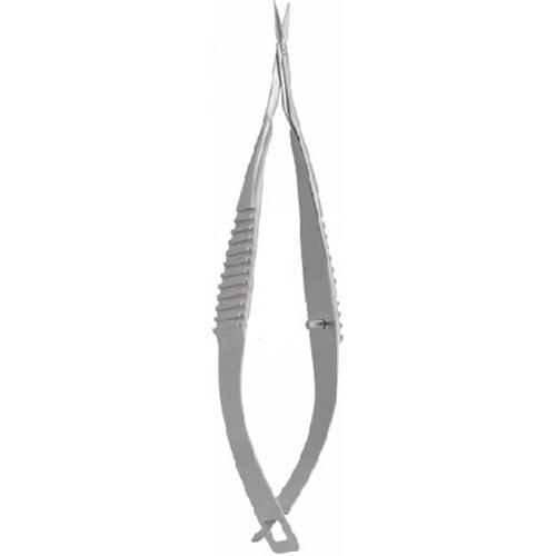 "VANNAS Micro Scissors with Flat Spring Type Handles 8 cm, 3⅛"" straight_2"