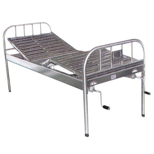 NRM3954 Hospital Folding Bed Wwith Three Parts_2
