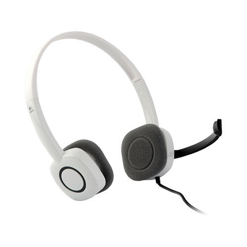 Logitech Stereo Headset H150 -CLOUD WHITE (981-000350)_2