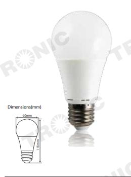 LED Bulb - LE 0527-DL/LE 0527-WW_2