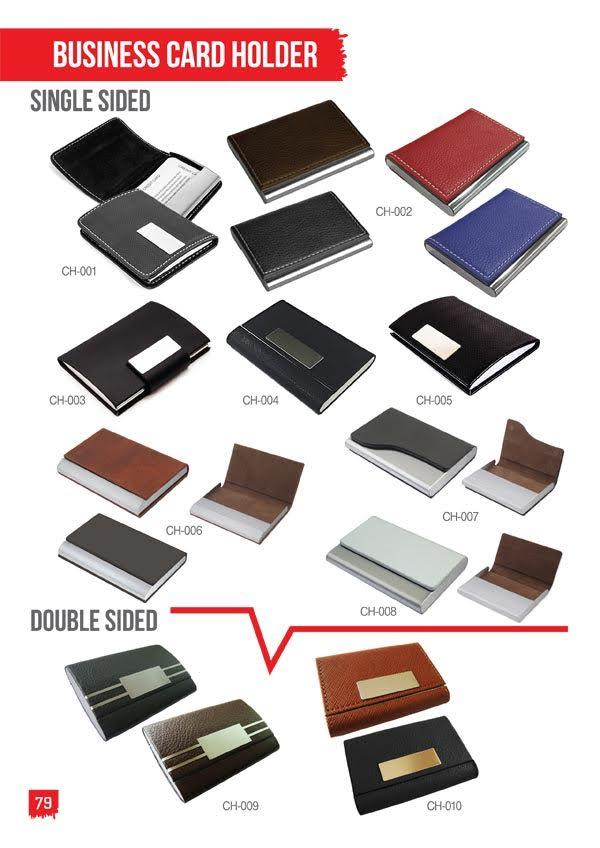 Business card holder Double & Single Sided_2