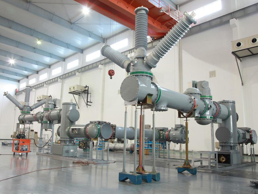 ZF41B-126/T2500-40 Gas Insulation Metal-clad Switchgear_2