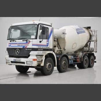 Mercedes Mixer Actros_2