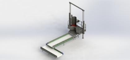 Tripe Transferring Conveyor - Offal Chute_3