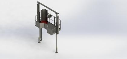 Tripe Transferring Conveyor - Offal Chute_2