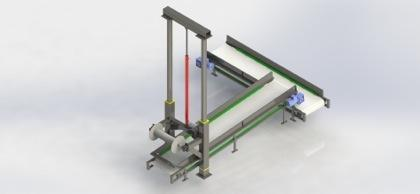 Skin Transferring Conveyor - Skin Chute_3