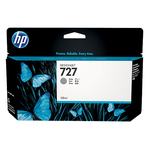 HP B3P24A GREY(130ML) #727_2