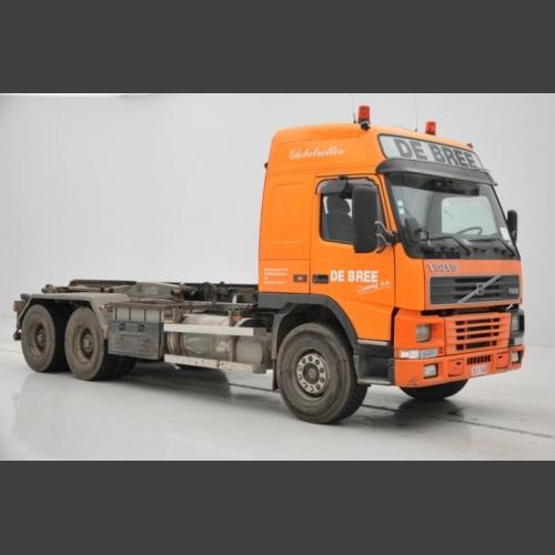 VOLVO - FM12 - 420 - 6X4 - GLOP - Chassis cab_2