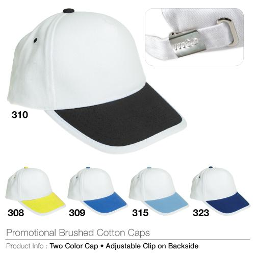 Promotional Brushed Cotton Cap_2