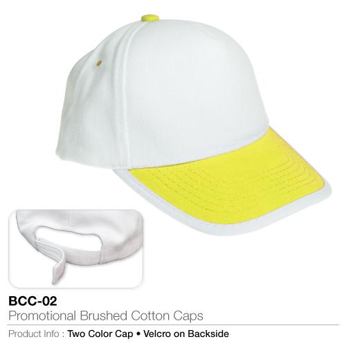 Promotional Brushed Cotton Cap  (BCC-02)_2