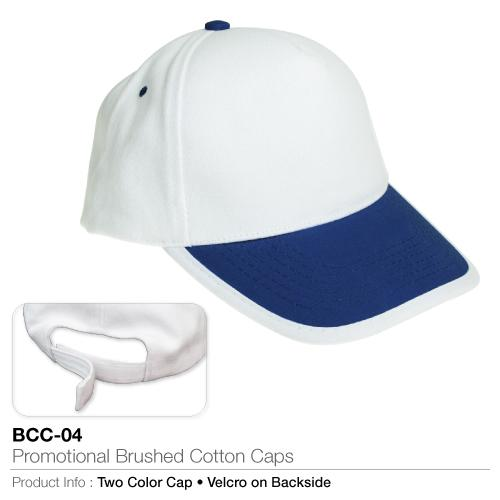 Promotional Brushed Cotton Cap  (BCC-04)_2