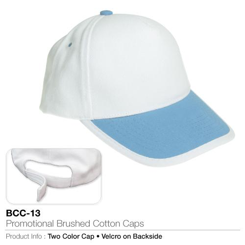Promotional Brushed Cotton Cap  (BCC-13)_2