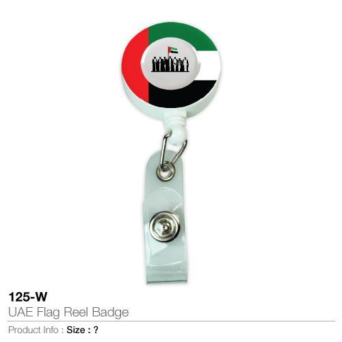 UAE Flag Reel Badge (125-W)_2