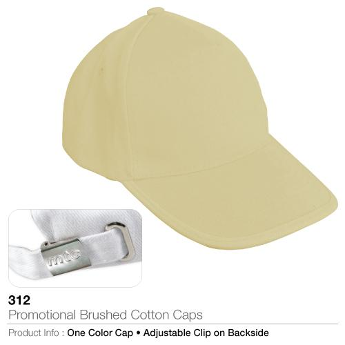Promotional Brushed Cotton Caps (312)_2