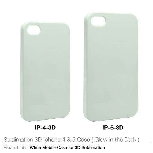 Sublimation 3D for Iphone 4 & 5 Case (Glow in the dark)_2