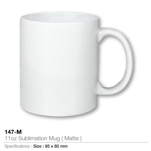 11oz Sublimation Mug (Dishwasher Safe)- 147 -D_2