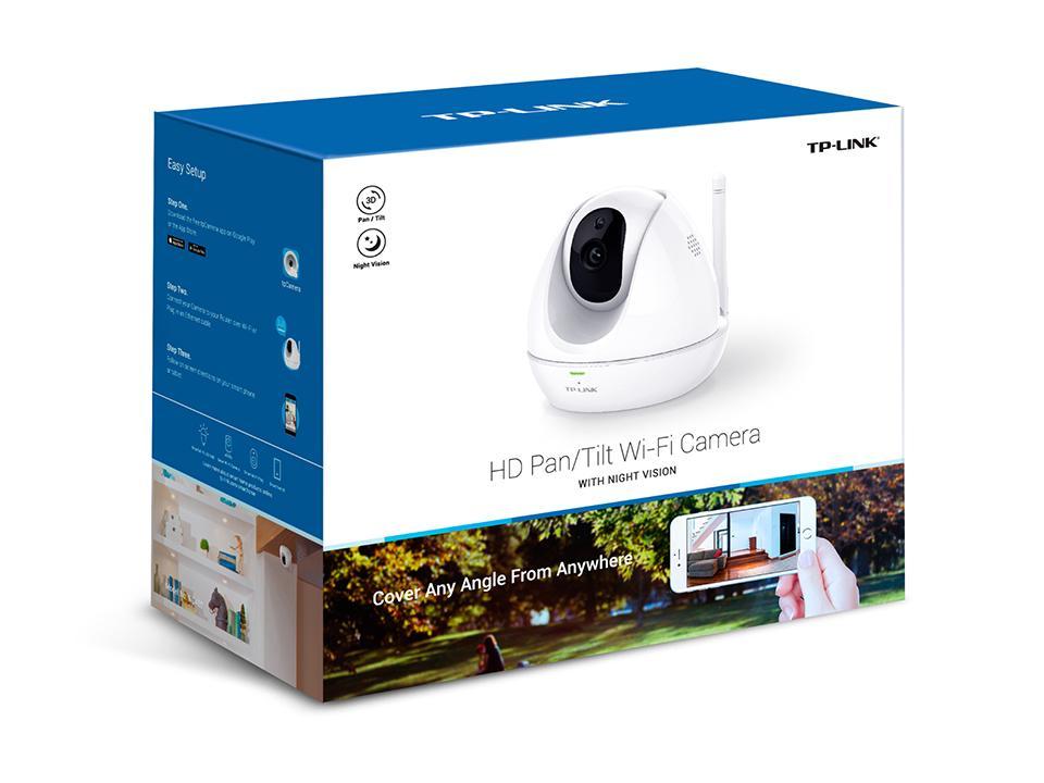 HD Pan Tilt WiFi Camera WITH NIGHT VISION NC_2