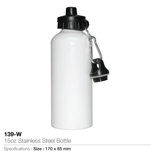 15oz Stainless Steel Bottle- 139-W_2