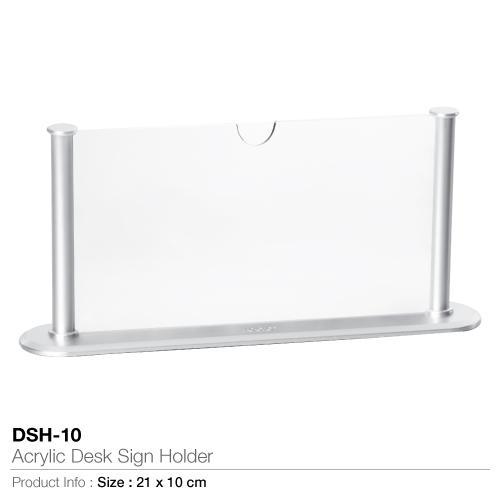 Acrylic Desk Sign Holder- DSH-10_2