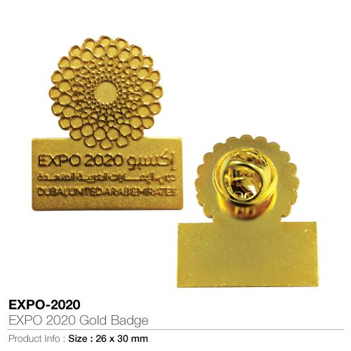 EXPO 2020 Gold Badge_2