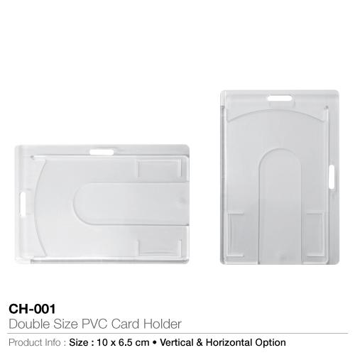 Double Size PVC Card Holder - CH-001_2
