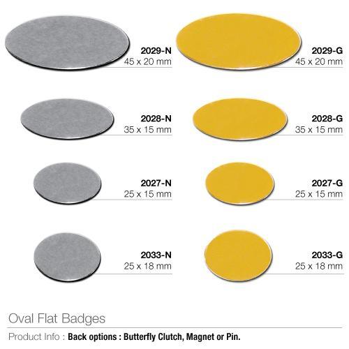 Oval Flat Badges_2