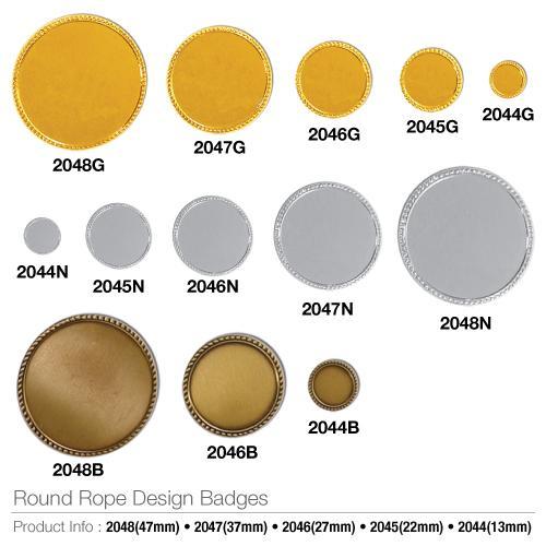 Round Rope Design Badges_2