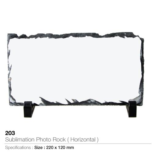 Sublimation Photo Rock - Horizontal - 203-H_2