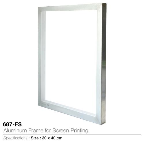 Aluminum Frame for Screen Printing-  687-FS_2