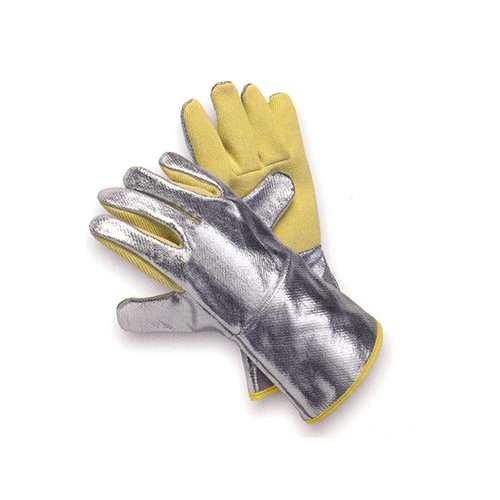 JUTEC Aramid/Aluminium Coated Glove-Yellow_3