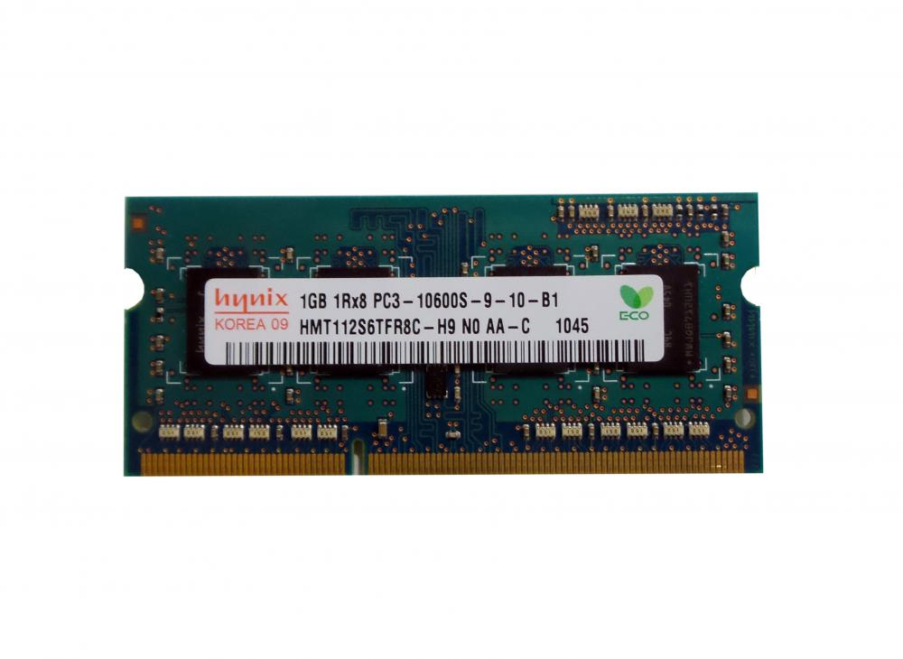 HYNIX 1GB 1RX8 PC3-10600S HMT112S6TFR8C-H9 Laptop RAM_2