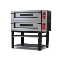 EMPERO GAS PIZZA OVEN EMP.4+4G