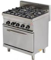 Turhan COOKING GAS RANGE WITH 4 BURNER LPG TC 6KUZ600