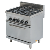 Turhan COOKING GAS RANGE WITH 6 BURNER LPG TC 9KG120