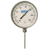 Process grade thermometers