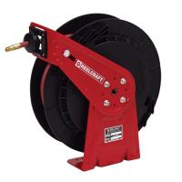 "Medium duty spring retractable hose reels (series rt)  series rt - 1/4"", 3/8"", 1/2"" i.d spring driven air / water / oil / grease"
