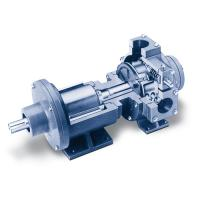 Magnetic drive option for sliding vane pumps